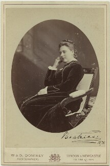 Princess Beatrice of Battenberg, by W. & D. Downey - NPG x32972