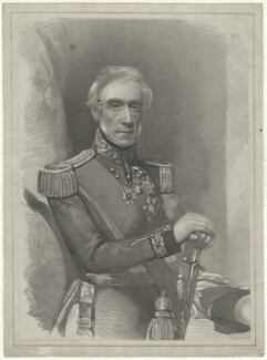 Sir William John Codrington, by Lowes Cato Dickinson, after  Frederick Cruickshank - NPG D33699