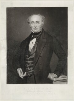 Albert Isaiah Coffin, by Henry Bryan Hall, probably after  Auguste Charpentier - NPG D33700