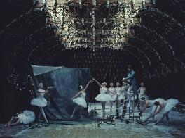 Patrick Wolf and twelve ballerinas, by Tim Walker - NPG x131992