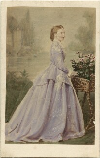 Princess Helena Augusta Victoria of Schleswig-Holstein, by Unknown photographer - NPG Ax46786
