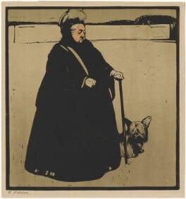 Queen Victoria, published by William Heinemann, after  William Nicholson - NPG D33653