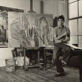 John Minton, by (Edward) Russell Westwood - NPG x35236