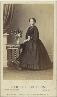 Princess Louise Caroline Alberta, Duchess of Argyll, by (Cornelius) Jabez Hughes, 1862 - NPG x15568 - © National Portrait Gallery, London