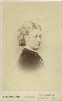 Princess Louise Caroline Alberta, Duchess of Argyll, by Elliott & Fry - NPG x15575