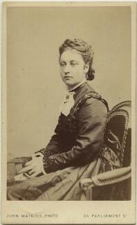 Princess Louise Caroline Alberta, Duchess of Argyll, by John Watkins - NPG x15573