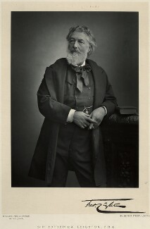 Frederic Leighton, Baron Leighton, by Walery, published by  Sampson Low & Co - NPG x6148