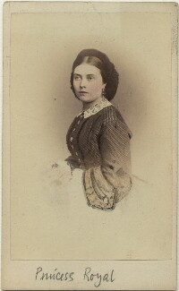 Victoria, Empress of Germany and Queen of Prussia, by Hermann Günther, 1860s (late 1850s) - NPG x132095 - © National Portrait Gallery, London