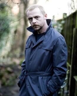 Simon Pegg, by Jillian Edelstein - NPG x132098