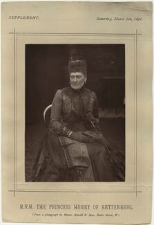 Princess Beatrice of Battenberg, by James Russell & Sons - NPG x32974