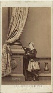 Prince Leopold, Duke of Albany, by John Jabez Edwin Mayall, February 1861 - NPG x15726 - © National Portrait Gallery, London