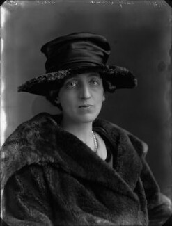Gertrude Mary Denman (née Pearson), Lady Denman, by Bassano Ltd - NPG x33602