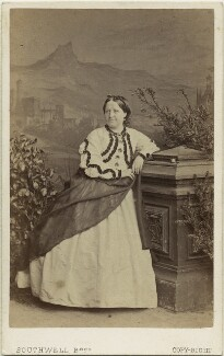 Charlotte Saunders, by Southwell Brothers - NPG x22367