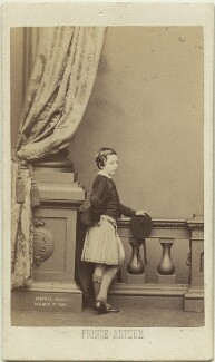Prince Arthur, 1st Duke of Connaught and Strathearn, by John Jabez Edwin Mayall, February 1861 - NPG x26131 - © National Portrait Gallery, London