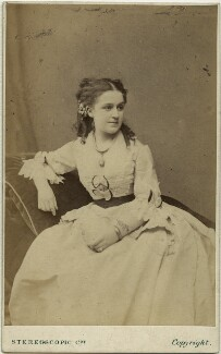 Patti Josephs (Mrs J.H. Fitzpatrick), by London Stereoscopic & Photographic Company - NPG x18959
