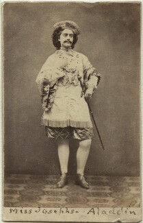 Fanny Josephs as Pekoe in 'Aladdin' or the 'Wonderful Scamp', by Gladwell - NPG x18958