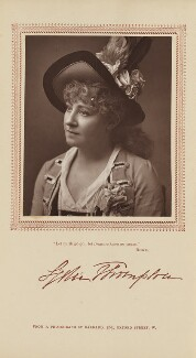 Lydia Thompson (Eliza Hodges Thompson), by Herbert Rose Barraud, published by  Carson & Comerford - NPG Ax29386