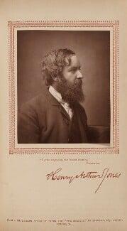Henry Arthur Jones, by Herbert Rose Barraud, published by  Carson & Comerford - NPG Ax29796