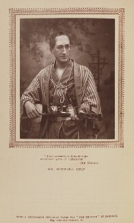 Durward Lely (James Durward Lyall) as Nanki-Poo in 'The Mikado', by Herbert Rose Barraud, published by  Carson & Comerford - NPG Ax9288