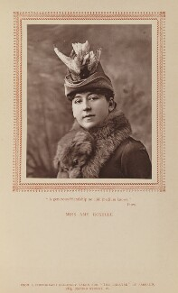 Amy Roselle (Mrs Arthur Dacre), by Herbert Rose Barraud, published by  Carson & Comerford - NPG Ax9290