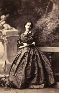 Adelina Patti, by Camille Silvy, July 1861 - NPG x12679 - © National Portrait Gallery, London