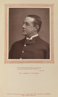 Gilbert Farquhar, by Herbert Rose Barraud, published by  Carson & Comerford - NPG Ax9294