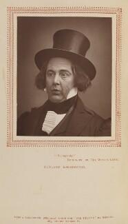 Rutland Barrington (George Rutland Barrington Fleet) as Sir Despard Murgatroyd in 'Ruddigore', by Herbert Rose Barraud, published by  Carson & Comerford - NPG Ax9302