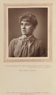 Janet Achurch, by Herbert Rose Barraud, published by  Carson & Comerford - NPG Ax9303