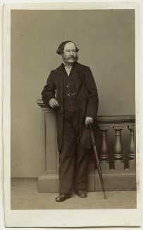 Edward John Hutchins, by Thomas Richard Williams, circa 1862 - NPG Ax46849 - © National Portrait Gallery, London
