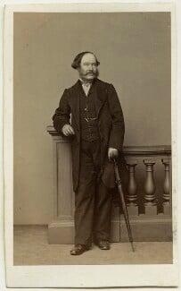 Edward John Hutchins, by Thomas Richard Williams, circa 1862 - NPG Ax46849 - © National Portrait Gallery, London