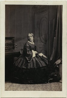 Charlotte Jane Gibbons (née Skipworth), by Camille Silvy - NPG Ax47010