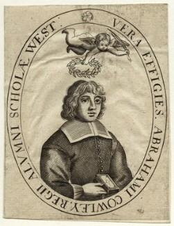Abraham Cowley, after Robert Vaughan - NPG D33708