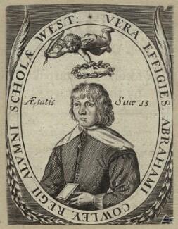 Abraham Cowley, after Robert Vaughan - NPG D33709