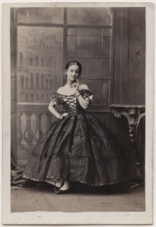 Adelina Patti as Rosina in 'The Barber of Seville', by Camille Silvy - NPG Ax25072
