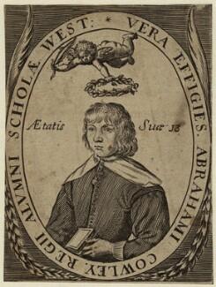 Abraham Cowley, after Robert Vaughan - NPG D33710