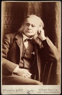 Thomas Henry Huxley, by Elliott & Fry, 1885 - NPG x11994 - © National Portrait Gallery, London