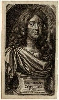 Abraham Cowley, by William Faithorne - NPG D33714