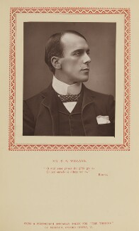 Edward Smith Willard, by Herbert Rose Barraud, published by  Strand Publishing Company - NPG Ax9311