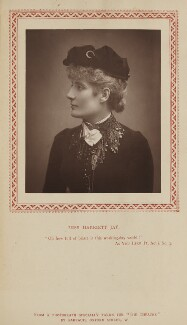 Harriett Jay, by Herbert Rose Barraud, published by  Strand Publishing Company - NPG Ax9313