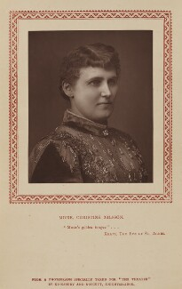 Christine Nilsson, by Kingsbury & Notcutt, published by  Strand Publishing Company - NPG Ax9316