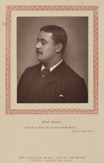 Claude Marius (Claude Marius Duplany), by Albert John Deneulain, published by  Strand Publishing Company - NPG Ax9317