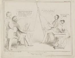 Sir George Hayter; Arthur Wellesley, 1st Duke of Wellington; Prince Albert of Saxe-Coburg-Gotha; Queen Victoria, by John ('HB') Doyle, published by  Thomas McLean - NPG D33732