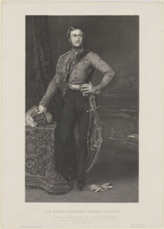 Prince Albert of Saxe-Coburg-Gotha, by Joseph Brown, after  Frederick A.C. Tilt - NPG D33734
