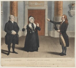 Hypocrite. Act IId. Scene 1st., by and published by John William Gear, published July 1824 - NPG D9308 - © National Portrait Gallery, London