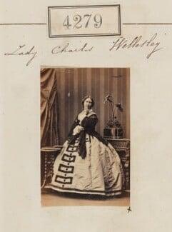 Augusta Sophia Anne (née Pierrepont), Lady Charles Wellesley, by Camille Silvy - NPG Ax54294