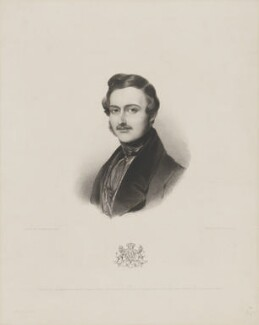 Prince Albert of Saxe-Coburg-Gotha, by Henry Thomas Ryall, published by  Colnaghi and Puckle, after  Sir William Charles Ross - NPG D33744