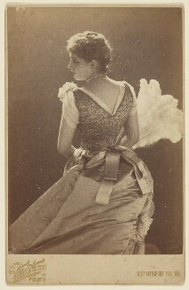 Lillie Langtry, by Henry Van der Weyde, April 1885 - NPG P863 - © National Portrait Gallery, London