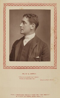 Harry B. Conway (Harry Blenkinsopp Coulson), by Window & Grove, published by  Strand Publishing Company - NPG Ax9333
