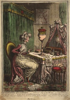 'Contemplations upon a coronet', by James Gillray, published by  Hannah Humphrey - NPG D9307