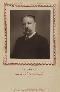 Henry Savile Clarke, by Disdéri, published by  Strand Publishing Company - NPG Ax9344